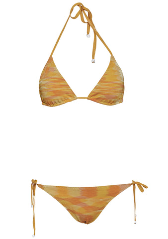 Missoni Mare Tonal Yellow Triangle Bikini