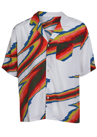 Missoni Men Zigzag Short Sleeve Shirt