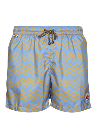Missoni Mare Light Blue Swim Shorts