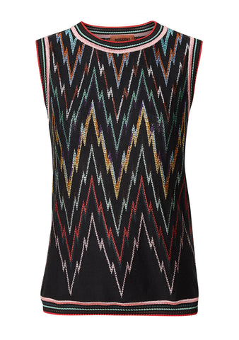 Missoni Black & Multi Knit Top shop online lot29.dk
