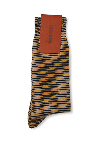 Missoni Yellow Knitted Socks
