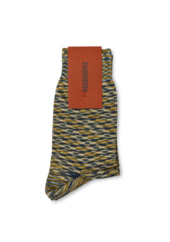 Missoni Green Knitted Socks