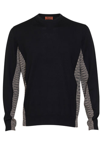 Missoni Contrast Panel Crewneck Sweater
