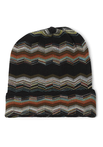 Missoni Men Zigzag Knit Hat