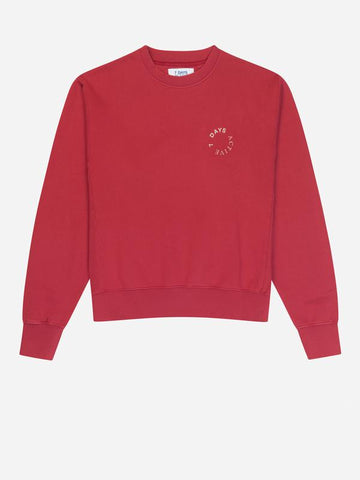 Cardinal Red Monday Crew Neck