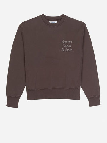 Mulch Brown Monday Crew Neck