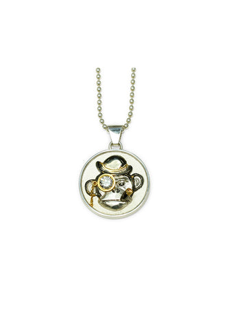 Danger Jewels Monkey Pendant Necklace
