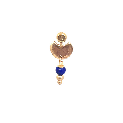 Morgana Earring With Blue Lapis