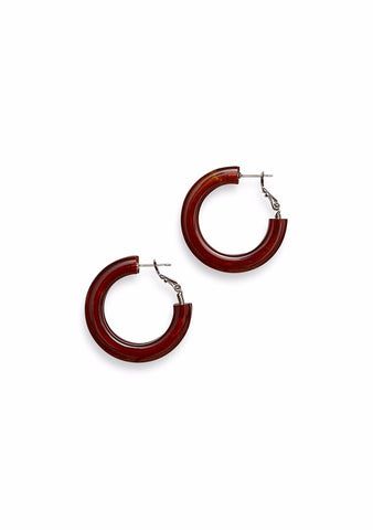 Rachel Comey Moto Brown Earrings
