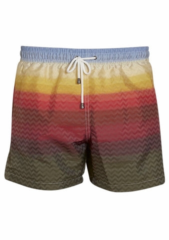 Missoni Mare Multicolor Swim Shorts LOT#29