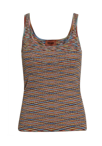 Missoni Multicolored Striped Top