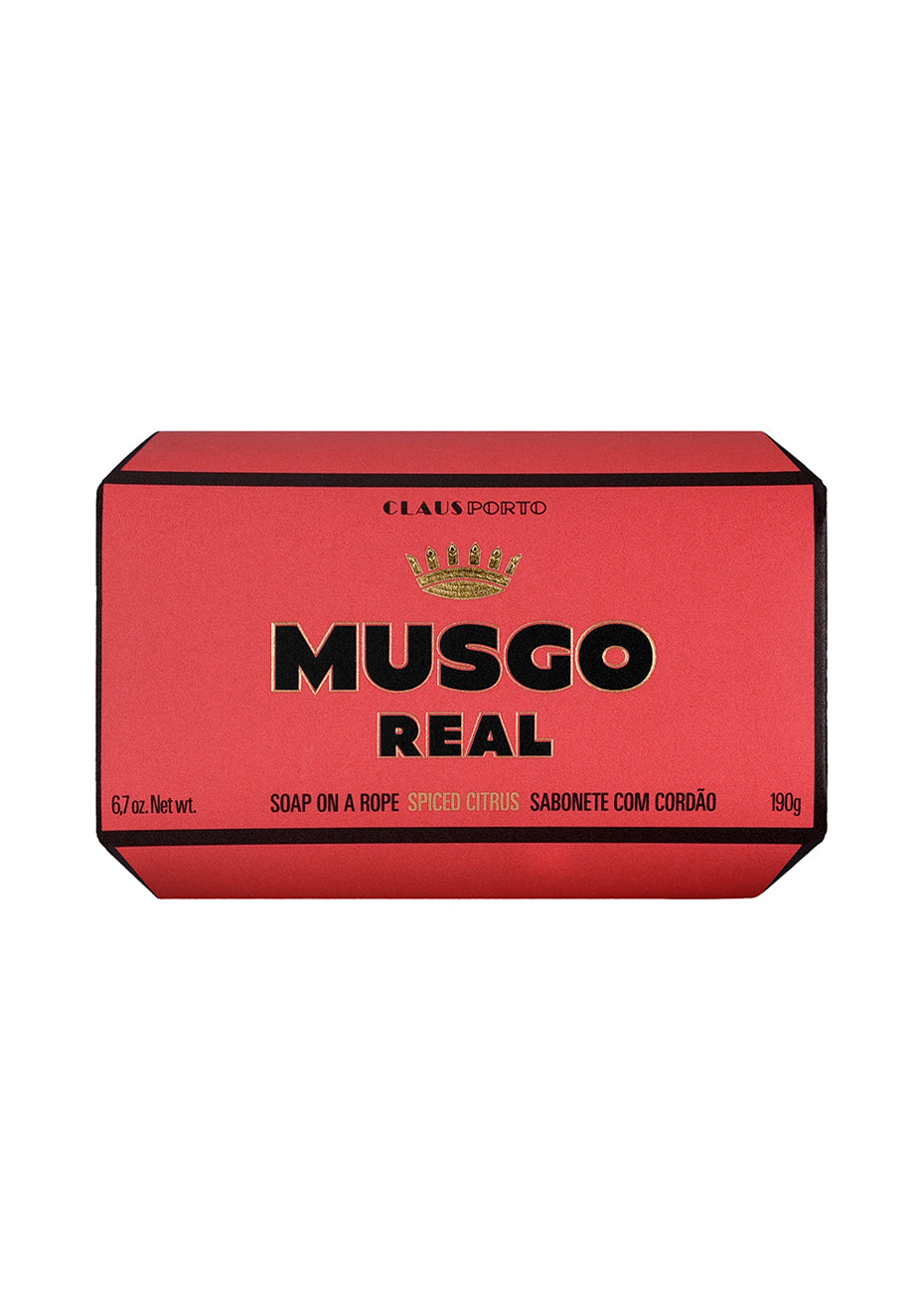 Musgo Real Soap On A Rope Spiced Citrus