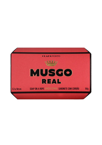 Claus Porto Musgo Real Soap On A Rope Spiced Citrus
