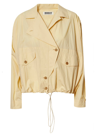 Birrot Yellow Nat Short Jacket shop online at lot29.dk