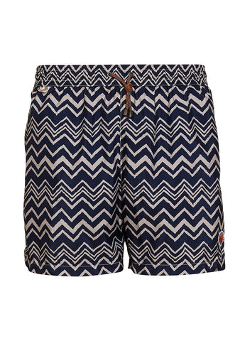 Missoni Mare Navy Swim Shorts