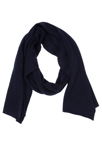 Bad Habits Navy Cashmere Scarf shop online lot29.dk