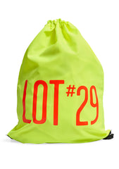 lot #29 Neon Yellow Gym Bag