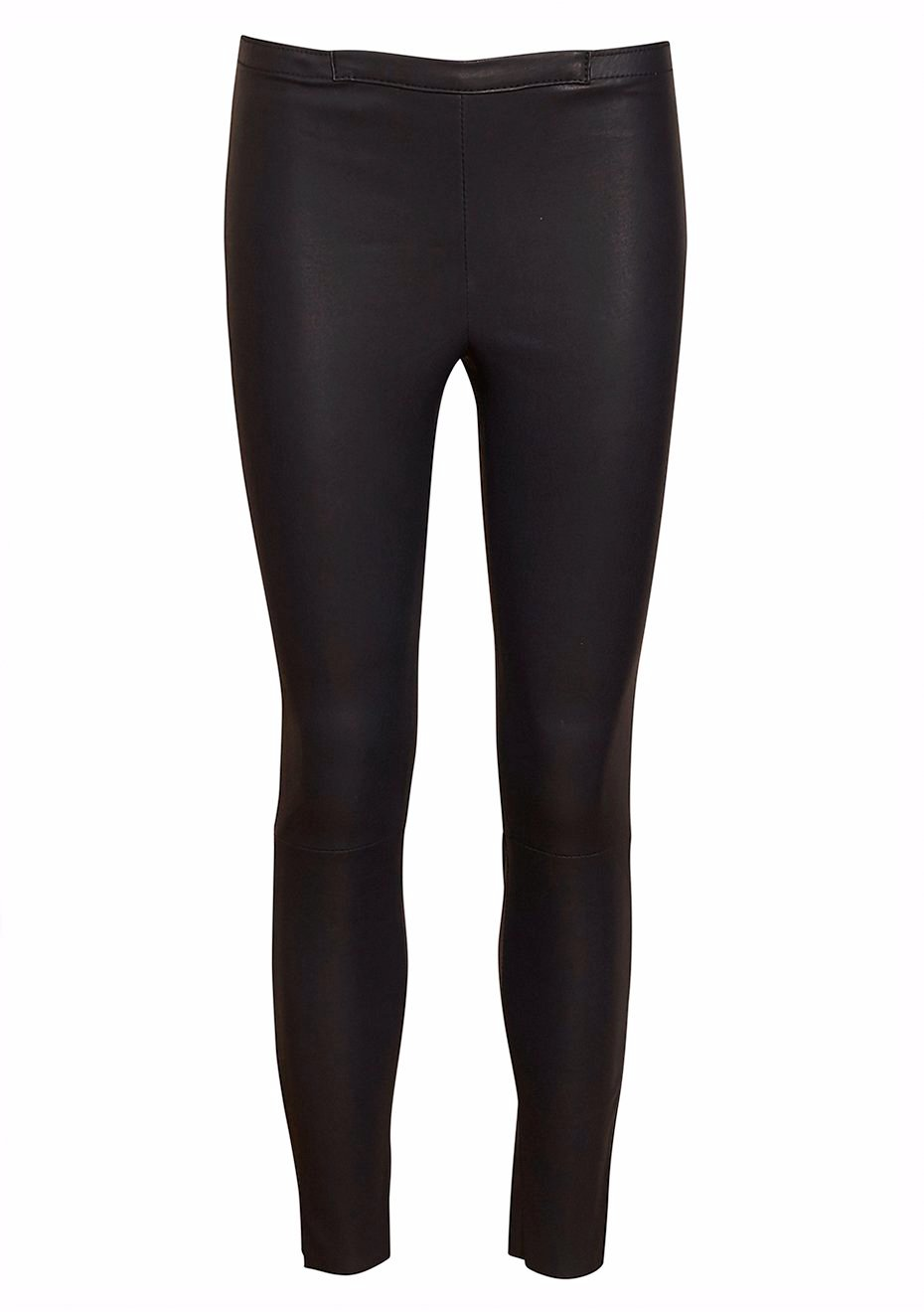 Night Fall Lamb Leather Leggings