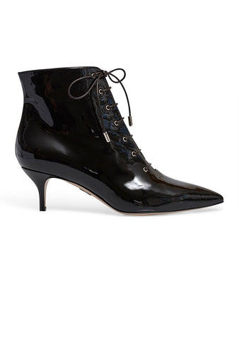 Paul Andrew Black Nolde Lace Up Boots