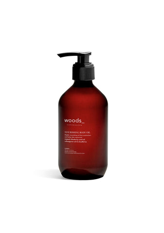woods_ copenhagen Nourishing Body Oil shop online at lot29.dk