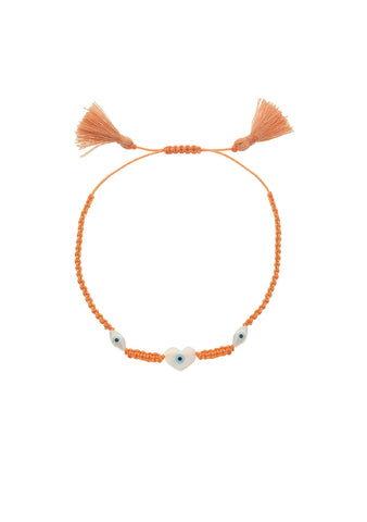 Eye M By Ileana Makri -  Summer Bracelet Orange