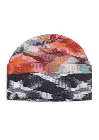 Missoni Men Orange Wool Hat