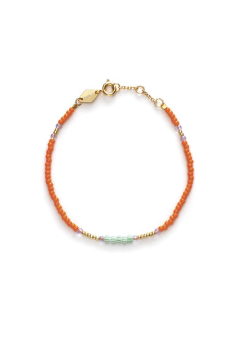 Anni Lu Peppy Orange Peel Bracelet