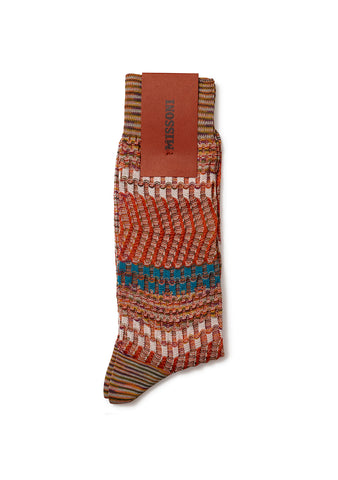 Missoni Orange Socks