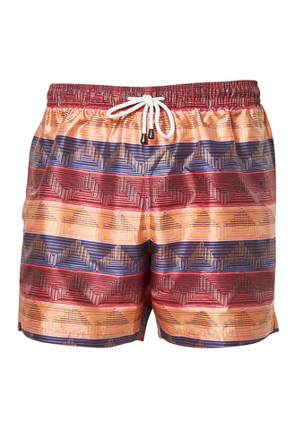 Missoni Mare Multi Orange Swim Shorts shop online at lot29.dk