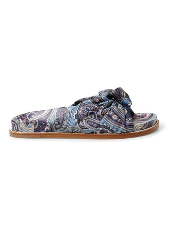 Etro Paisley Printed Slides SS18