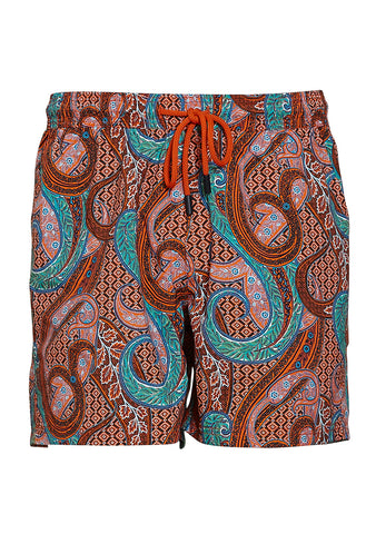 Etro Paisley Swim Shorts