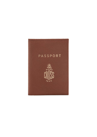 Mark Cross Acorn Passport Cover