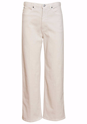 Rachel Comey Dirty White Denim Pennon Pant