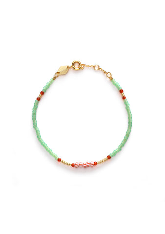 Anni Lu Peppy Green Lily Bracelet