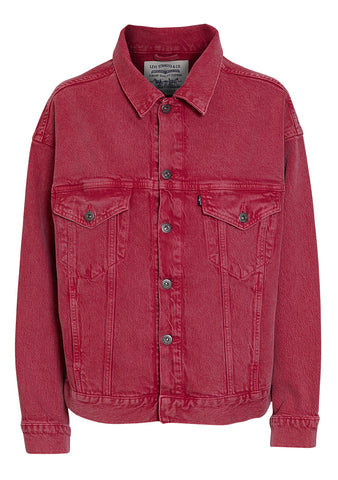 Levi's Made & Crafted Peacock Pink Oversized Jacket