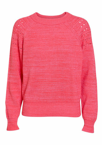 Nina Ricci Pink Knit Sweater