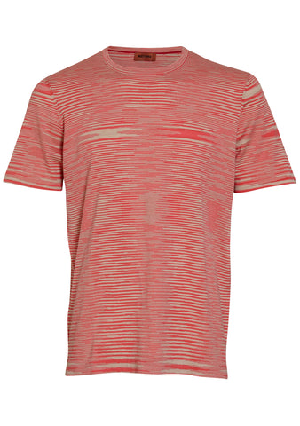 Missoni Beige & Pink Striped Tee