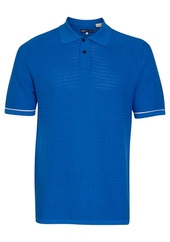 Levi's Made & Crafted Crochet Stitch Polo Shirt