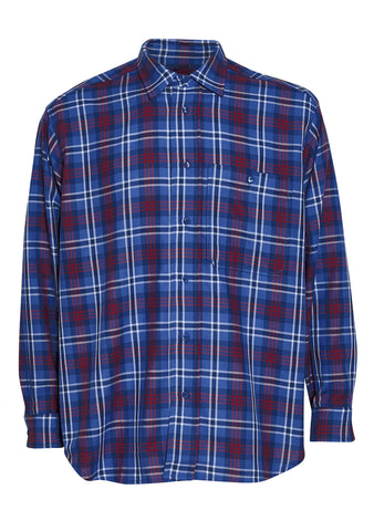 Tonsure Ron Checked Oversize Shirt
