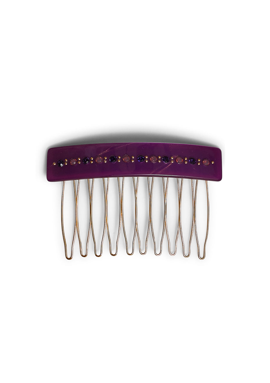 Violet Hair Comb