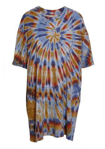 Raquel Allegra Rainbow T-Shirt Dress