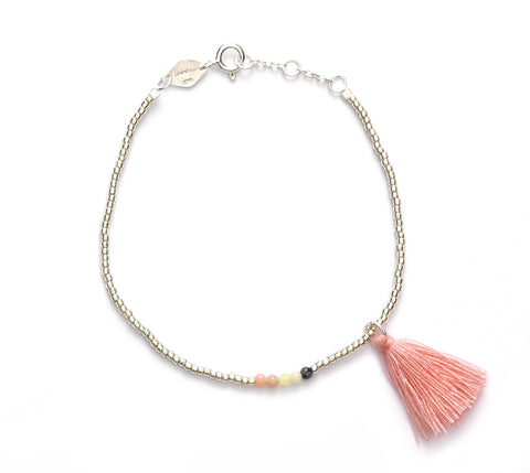 Lollipop pop bracelet in rose