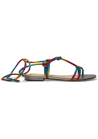 Alexandre Birman Rebecca Rainbow Sandals shop online at lot29.dk