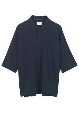 Tonsure Dark Navy Ralph Polo Shirt shop online at lot29.dk