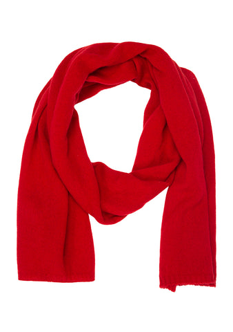 Bad Habits Men Red Cashmere Scarf