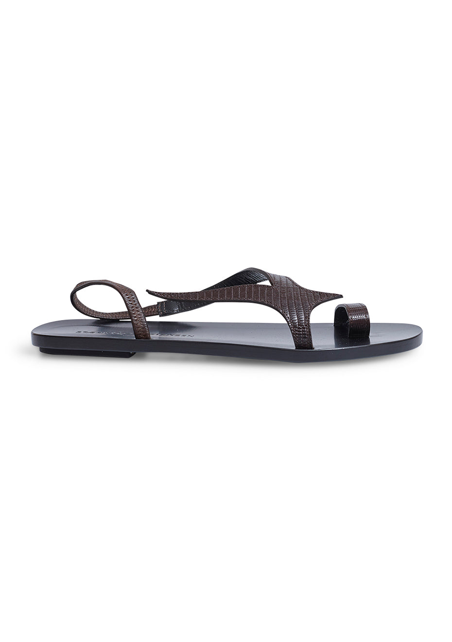 Brown Swallow Sandal