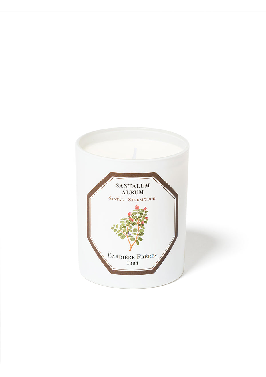 Sandalwood Scented Candle - Santalum Album