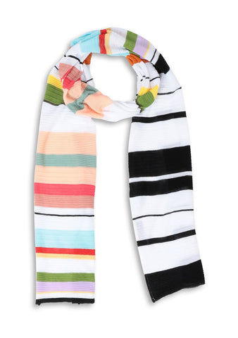 Missoni Striped Cotton Scarf