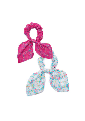 LoveShackFancy Gauze Swim Scrunchies shop at lot29.dk