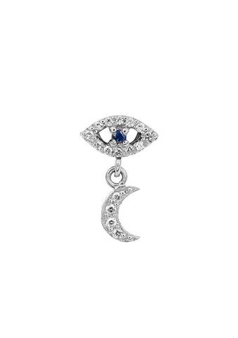 Ileana Makri Eye Moon Stud